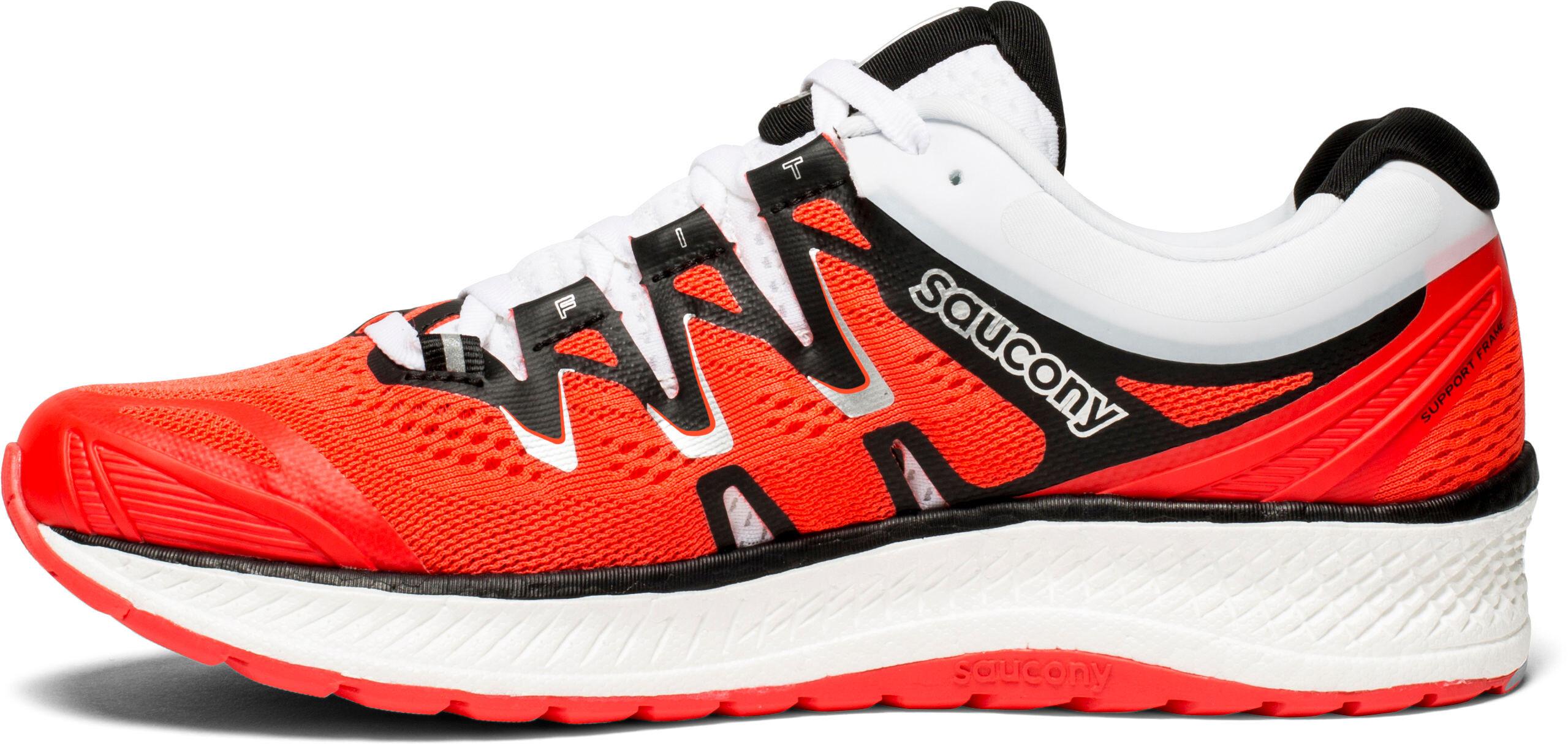 7c08743e188 saucony Triumph ISO 4 - Chaussures running Femme - rouge noir ...